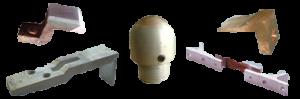 Контактни възли, дъгогасителни камери и инструментална екипировка